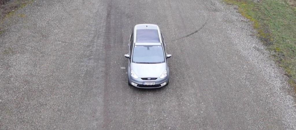 Kamerafahrt Fahrzeug